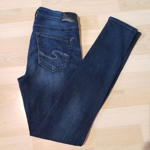 SILVER Aiko high skinny jeans